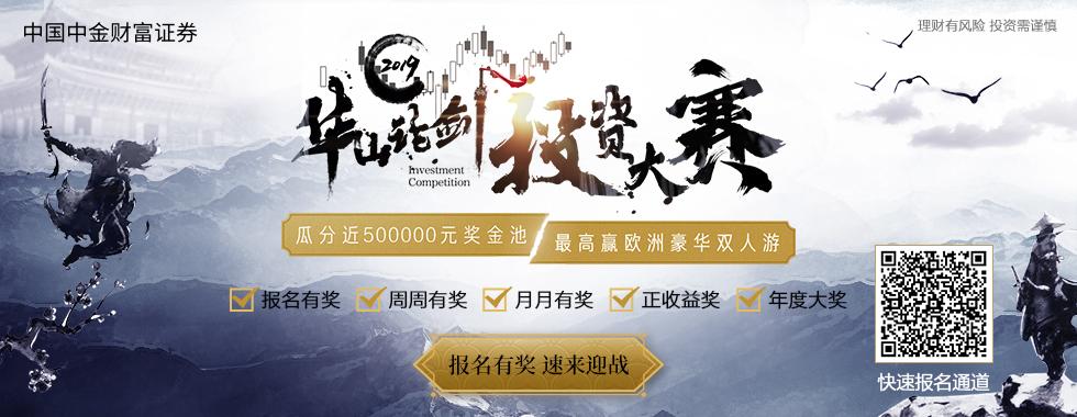 中國中金財富證券2019華山論劍投資大賽